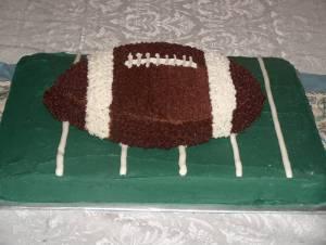 Football Cake Sm